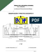 informe pedagogico 2