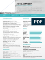Freelance Graphic & Web Designer Resume