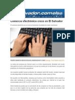 Comercio electrónico crece en El Salvador
