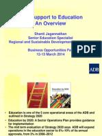 1-2 Educ RSDD by SJagannathan 10Mar2014