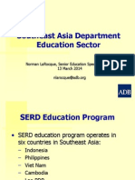 5 Educ SERD by NLaRocque 14Mar2014 Rev