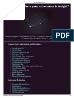 The Astronomy Home Page