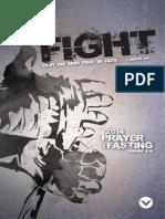 2014 Prayer & Fasting Manual(English)