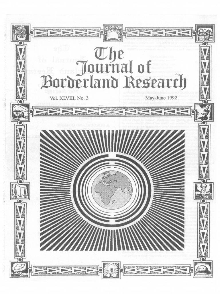 Journal Of Borderland Research Vol Xlviii No 3 May June 1992 Franklin Oscillator Circuit Tesla Shuttle How To Antenna Radio Lightning
