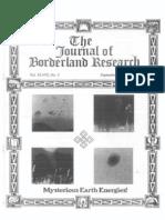 Journal of Borderland Research - Vol XLVIII, No 5, September-October 1992