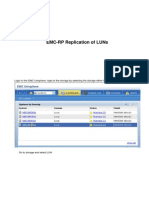 EMC-RPA Replication of LUNs