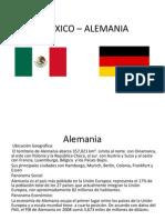 MEXICO – ALEMANIA