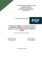 Optimizacion Tiempo Mantenimiento Digestores y Su Costo Cvg Bauxilum (1)