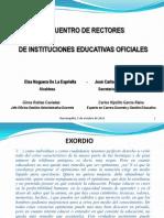 2012-10-05 - Encuentro de Rectores