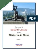 Sobre La Historia de Haiti Dos Textos