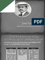 Presenstación José Vasconcelos