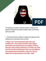 Islamic Invasion of America