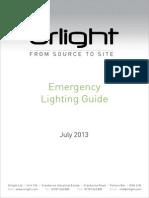 Orlight Guide on Emergency Lighting