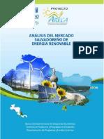 Mercado de energias Renovables El Salvador
