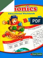 Phonics Bear Educational Workbook Grade 1