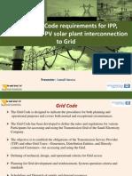 Ismail Hamza-Saudi Grid Code