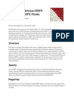 HDPE vs LDPE Article