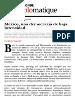 El Dipló _ MEXICO_Una democracia de baja intensidad