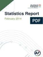 Public Transport Statistics - February Report March 14