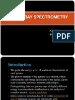 Gama Ray Spectrometry