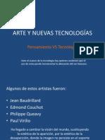 Arte y Nuevas Tecnologias