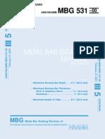 Bar Grating Manual