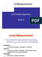 Intermediate LevelMeasurement