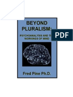BEYOND PLURALISM: