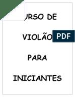 7200401 Anonimo Curso de ViolAo Para Iniciantes