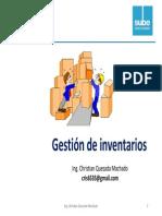 Clase 10 - Gestion Inventarios