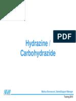Hydrazine /Carbohydrazide