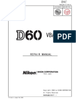 Nikon d60 Repair Manual