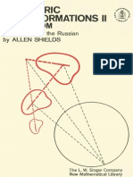 Geometric Transformations III
