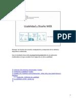 4. Usabilidad y Diseño WEB