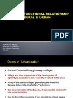 4. Functional Relationship - Rural & Urban