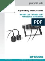 Ultrasonic Pulse Velocity Manual