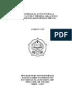 [Skripsi] SMS Gateway Trayek - Achmad Luthfi