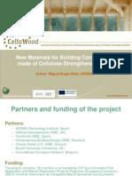 Presentation of CELLUWOOD Project at Fair HABITAT 2014