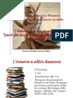 Petrarca - L'amore e altri demoni di SerenaTodaro