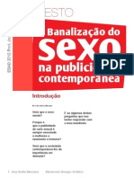 Banalização do sexo na Publicidade Contemporanea.