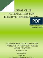 alternatives to nasotracheal intubations.ppt