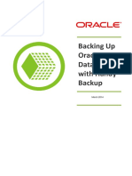 Backing Up Oracle Databases