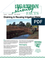 Reusing Irrigation Water