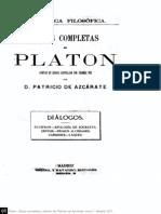 Introducción obras completas Platón