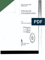 Textos Andaluces en Trascripcion Fonetica MAlvar Et Alii
