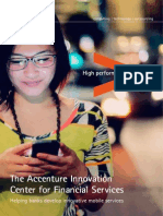 Accenture Innovation Center for Financial Services