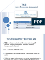 TCS Assignment PPT