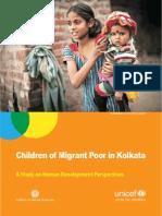 Children of Migrant Poor in kolkata