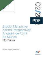Pespectivele Angajarii Romania