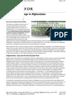 The U.S. Challenge in Afghanistan